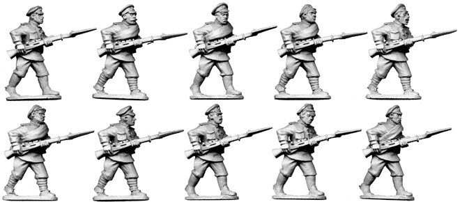 White Russian Infantry