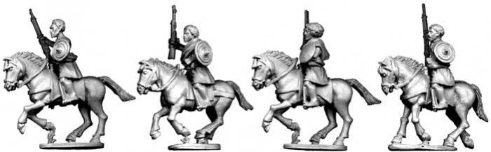 Somali Cavalry with Guns