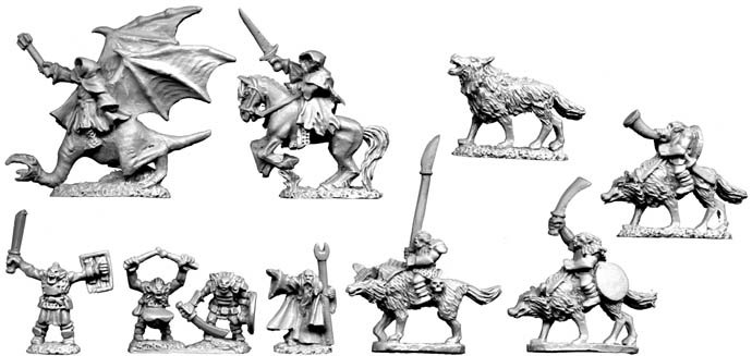 10mm Evil Characters