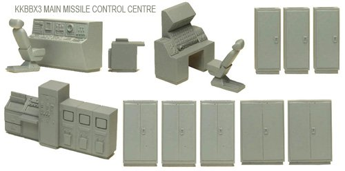 Main Missile Control Centre Set