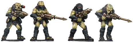 Hunter Aliens with Guns