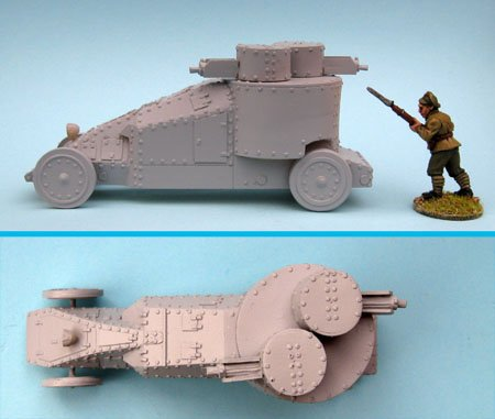 Mgebrov Twin-Turret Armoured Car
