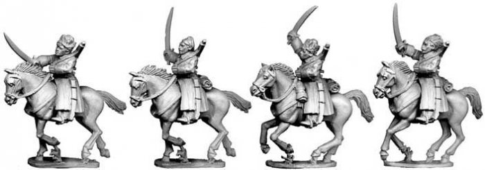 Bolshevik Cavalry in Greatcoats