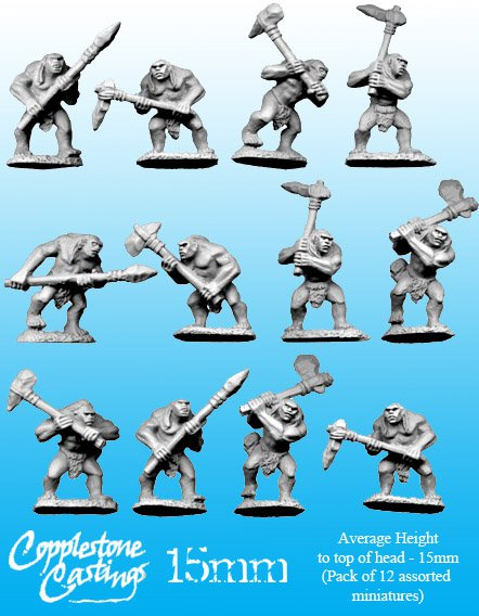 15mm Pict Warriors