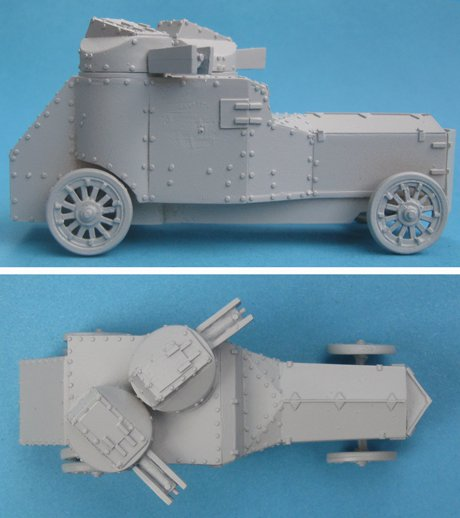 Armstrong-Whitworth Armoured Car