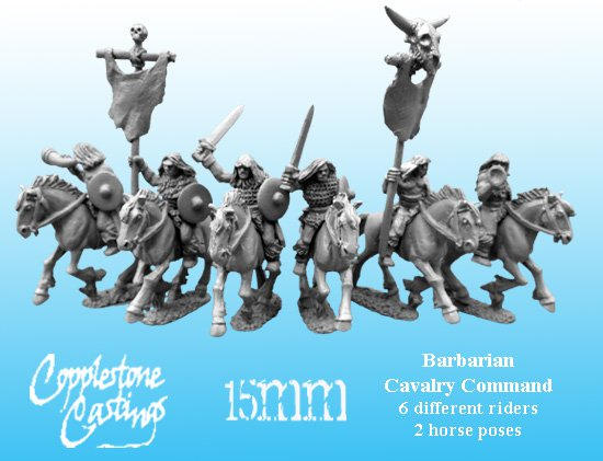 Barbarian Cavalry Command