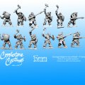 Photo of 15mm Ice Tribe Warriors (FM25 )